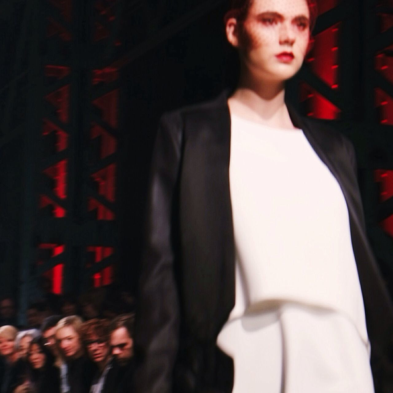 Walk that walk! Runaway First Row FW14