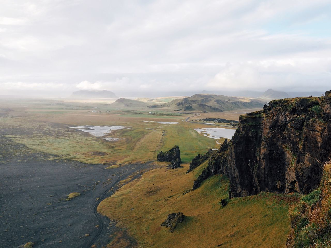 Landscape Nature Beauty In Nature Scenics Outdoors Mountain Tranquil Scene Cloud - Sky Finding New Frontiers in Iceland