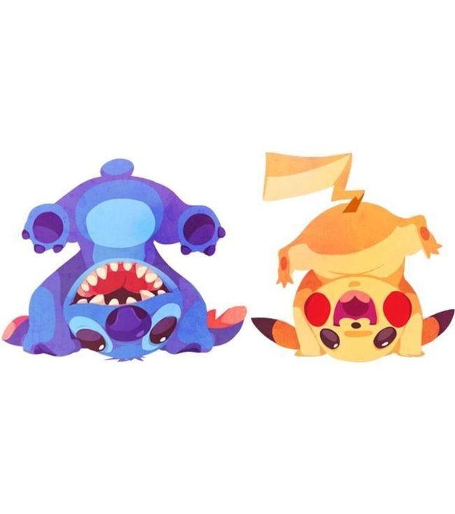 HD Dessin Draw Pokémon Pikachu Stitch