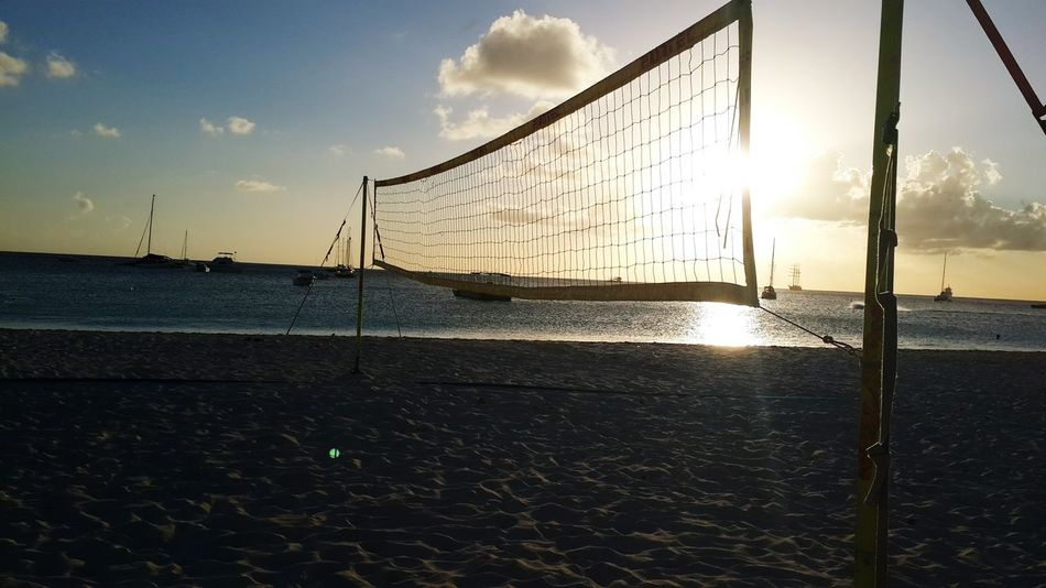 Beautiful stock photos of strand, Beach, Beach Volleyball, Cloud - Sky, Competitive Sport