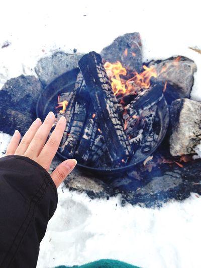 Bonfire Winter