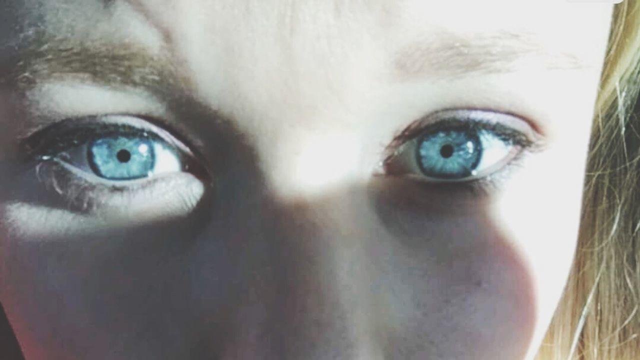 Blue Close-up Blue Myeyes