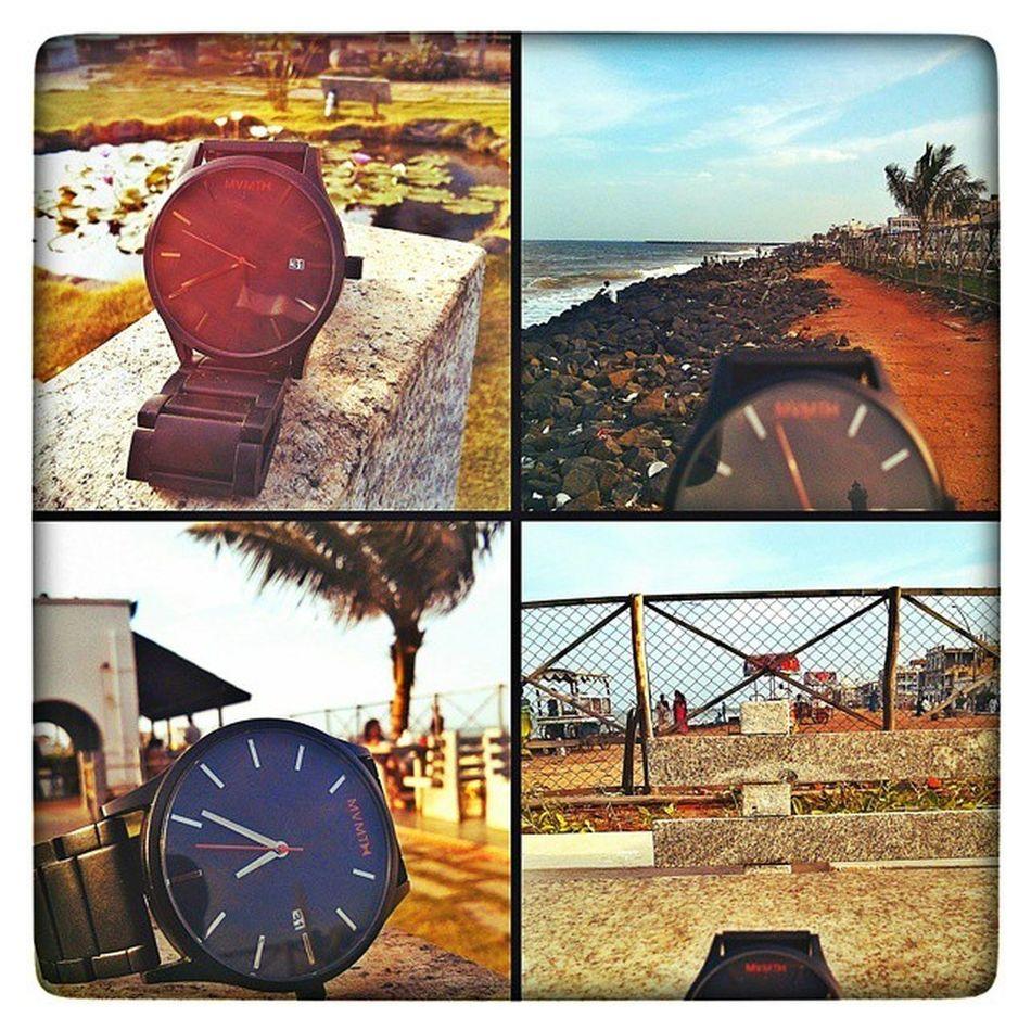 Mvmt moments @Rockybeach Mvmtwatches Mvmt Watchesofinstagram Watchoftheday Watchporn Pondicherry Beach F4F Nature Lécafe India Wearethebest Weekends Dailylife Friends