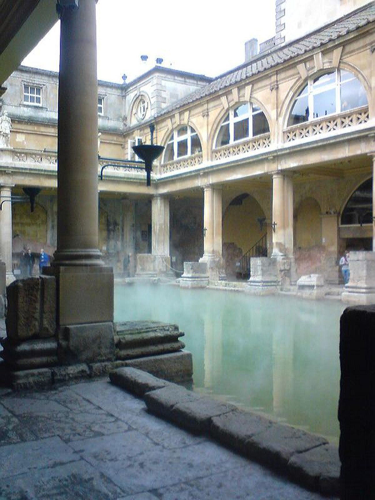 Architectural Detail Perspectives And Dimensions Historical Building Roman Bath