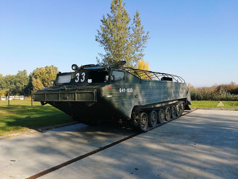 Military vehicle goes on the ground and in the water too. How does it called? Anyone? Military Parade Military Vehicles Military Vehicles Tank