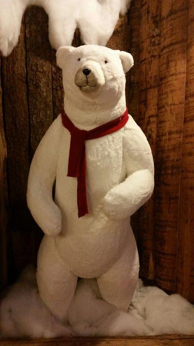 Christmastime Polar Bear Christmas Time Merry Christmas Eye4photography  EyeEm Best Shots EyeEm Best Edits Beautiful Christmas Decorations Christmas Is Coming