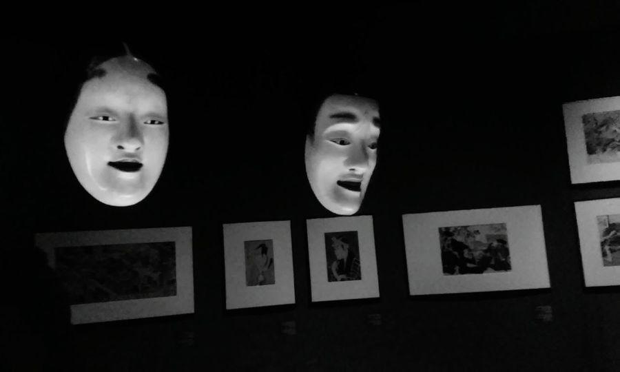 Scary Art Gallery Japanese Style Taking Photos Creepy Face