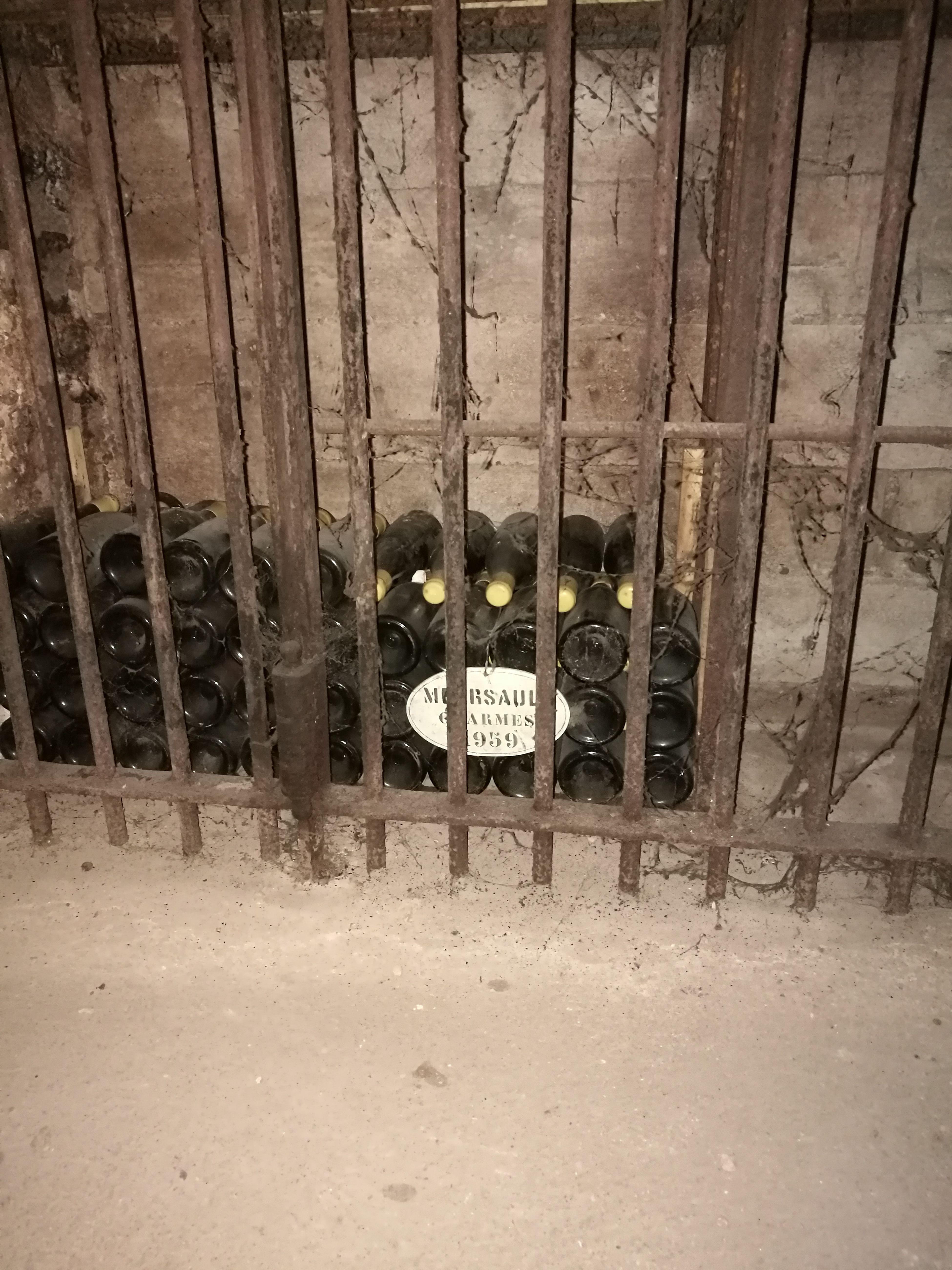 Wine Moments Cave En Bourgogne Meursault 1959