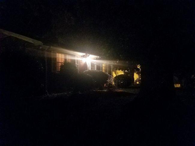 No People Darkness Outdoors Building Exterior Street Built Structure Illuminated Night Suburban Living Home Exterior