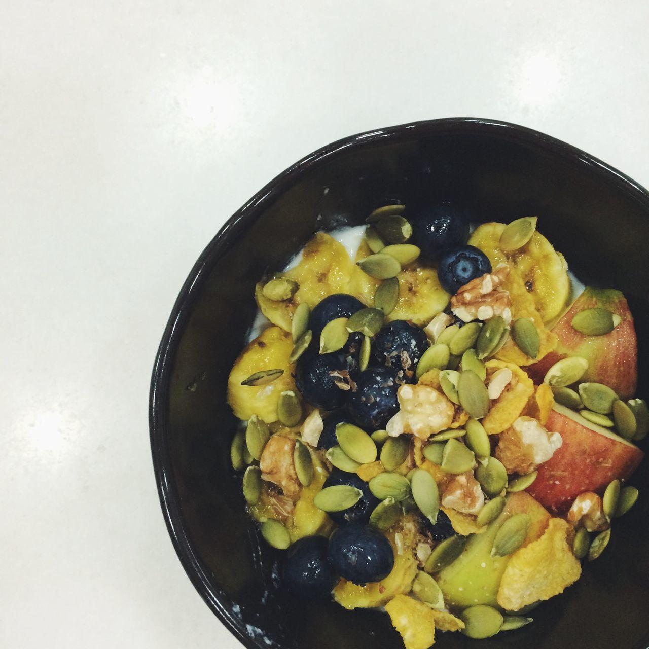 The EyeEm Breakfast Club Yoghurt Fruits Nuts