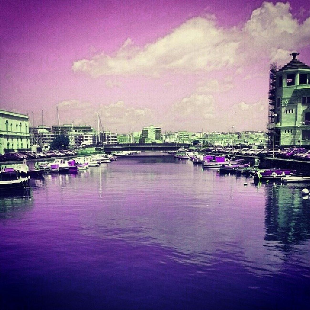 Siracusa Ponte Canale  Porto sicilia