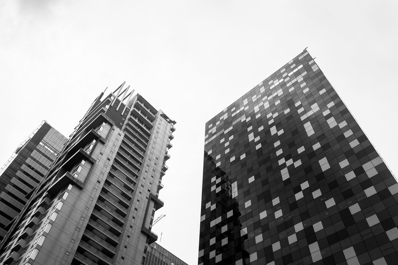 Mosaic City. Architecture City Scape City Skyline Building Built Structure NikonD3100 City Life City Street Eyeem Philippines Black And White Monochrome