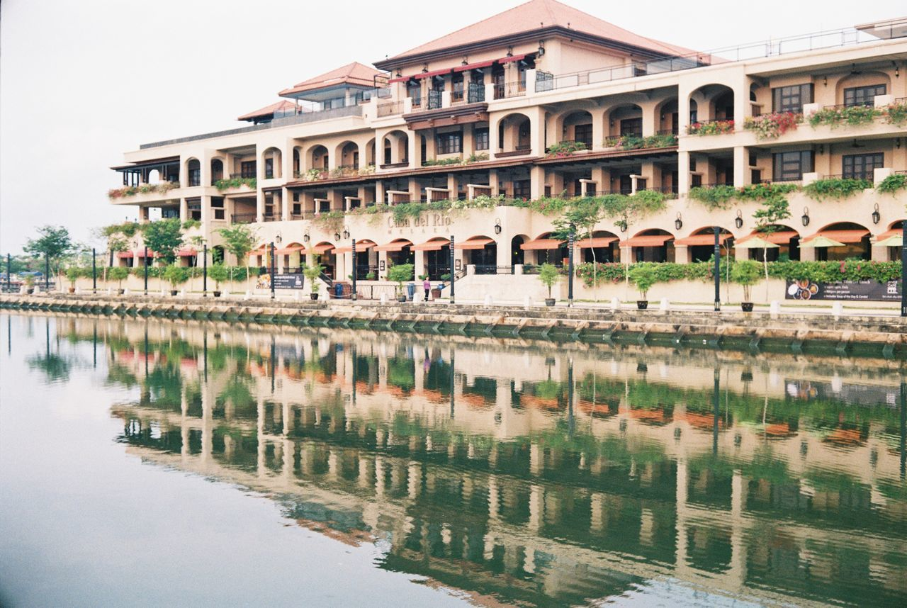 Architecture Water Film Photography Canon Canonet Ql17 Reflection Malacca River Historic City Film Is Not Dead Filmphotography