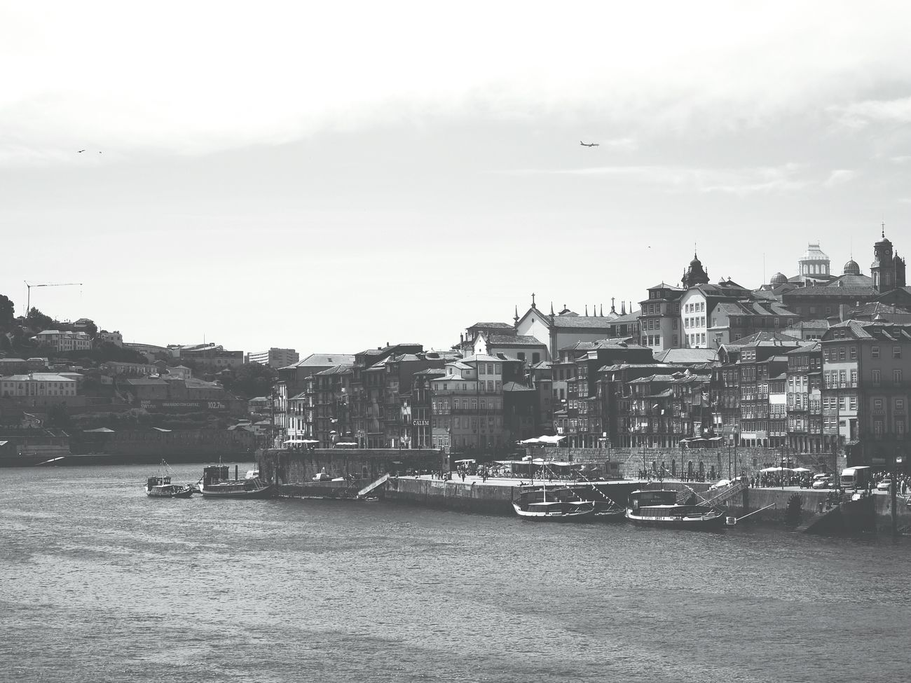 Porto view City Cityscape River Riverside Douro  Atmosphere Water Oldtown Beauty Porto Portugal South Saudade Boats Sky Outdoors Day Hill Banks Cloudy EyeEm Best Shots EyeEm Gallery Eyeemphotography Architecture