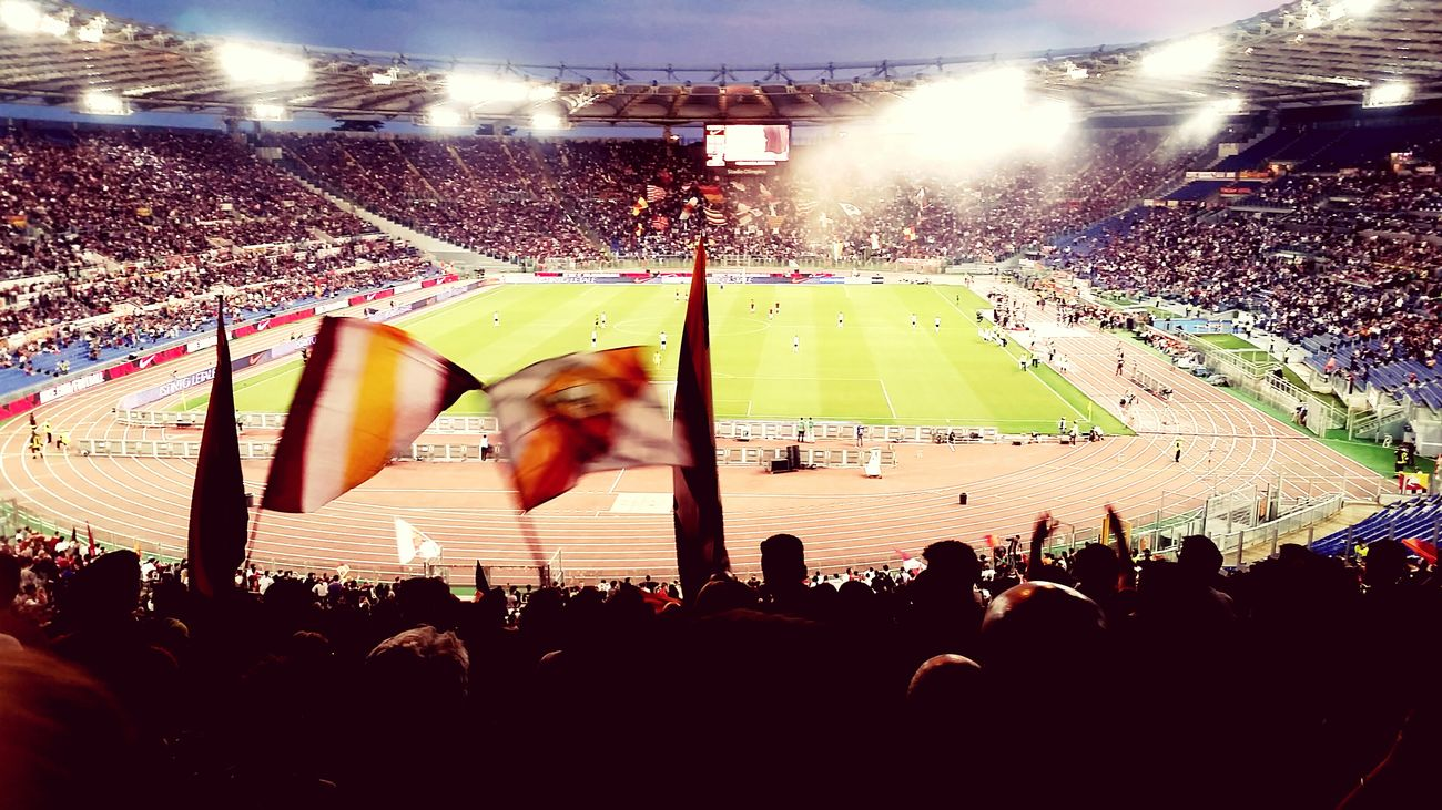 That's all folks. See you next year. Soccer Asroma Football