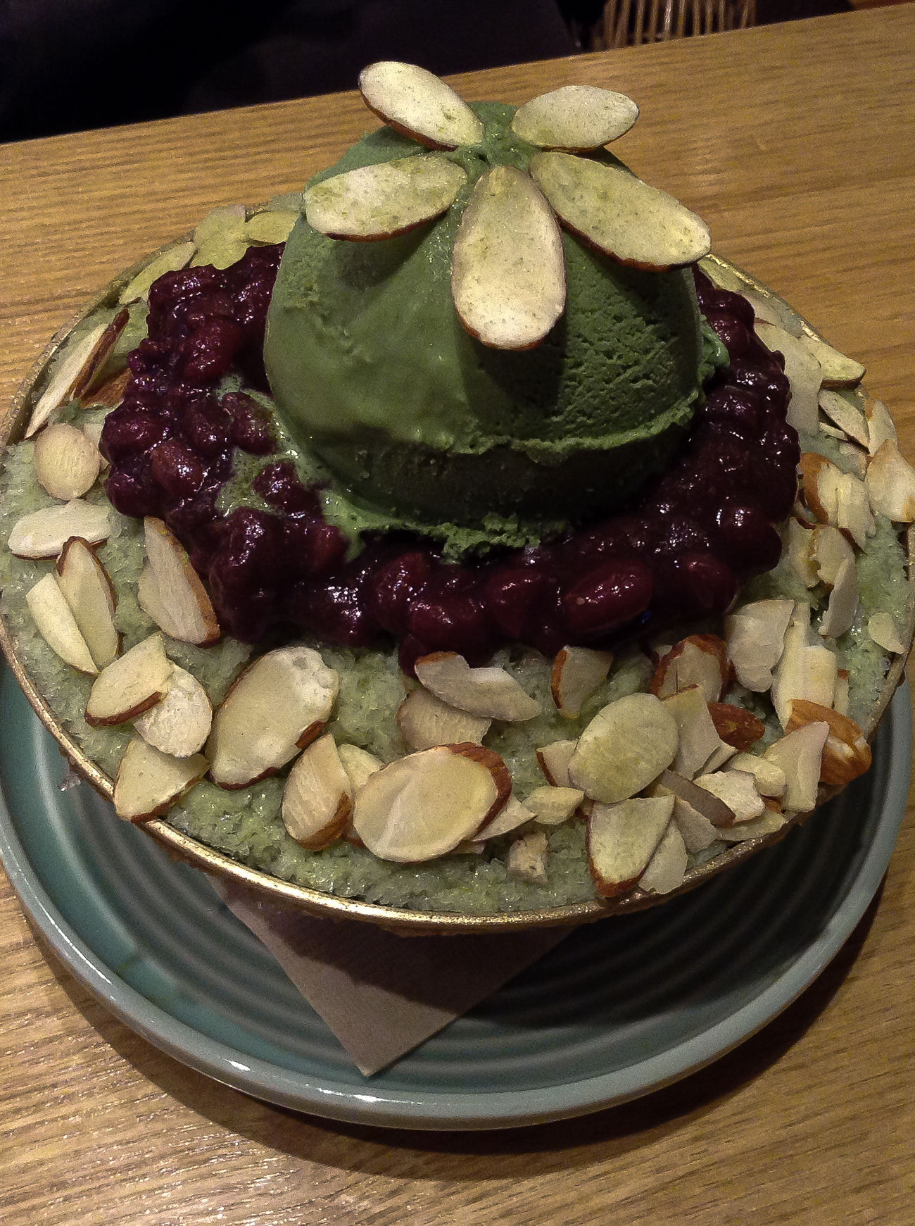 팥빙수 (patbingsoo) at cafe in Dongtan. Close-up Day Dessert Food Food And Drink Freshness Ice Cream Indoors  Korea No People Patbingsoo Pattern Ready-to-eat 팥빙수