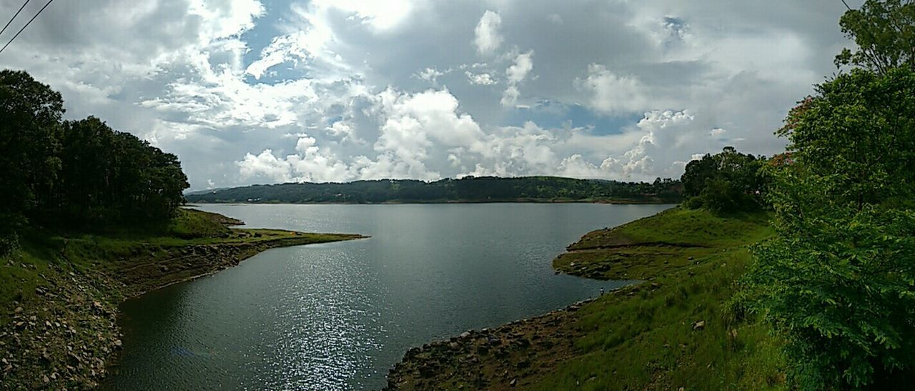 Beautiful Day Panorama Panoramic View The Purist (no Edit, No Filter) Clouds Collection Cloudsandsky Water_collection Sky Collection EyeEm Nature Lover Clouds And Sky