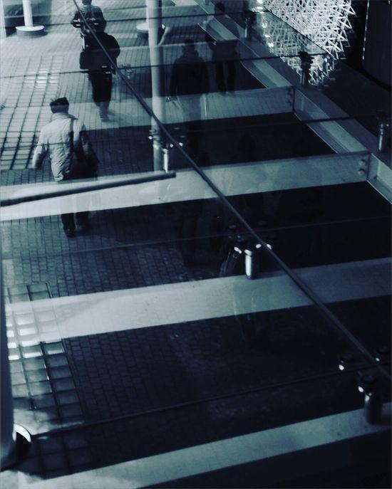 Cp+2016 パシフィコ横浜 Reflection Monochrome 観覧車 Upside Down FUJIFILM X-T1 Fujifilm_xseries EyeEm Best Shots Nightphotgraphy
