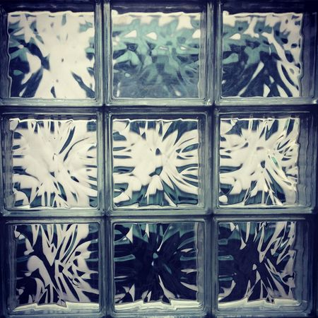Pattern Architecture Frosted Glass Close-up Window Light No People Full Frame Glassart