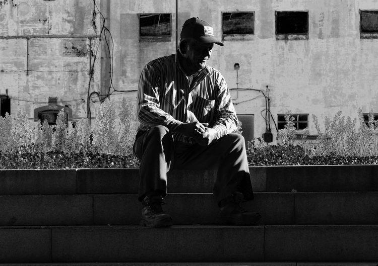 Blackandwhite EyeEm EyeEm Best Edits EyeEm Best Shots EyeEm Gallery EyeEmBestPics Eyeemphotography Mr.Francis Oldman One Man Only One Person Young Adult