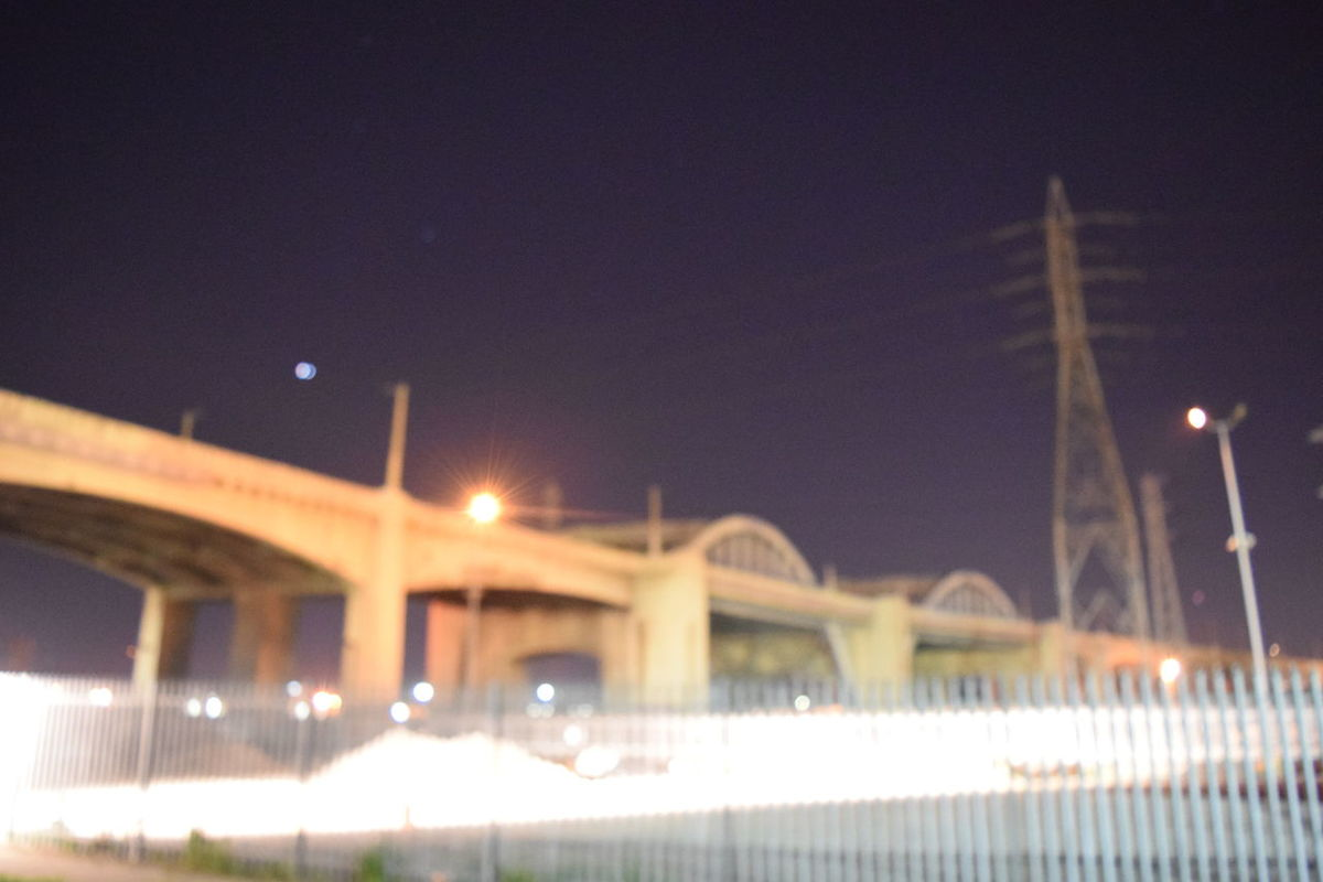 the ghost of 6th st bridge currently being demolished in Los Angeles pretty much erasing history to make way for the future Sunset #sun Clouds Skylovers Sky Nature Beautifulinnature Naturalbeauty Photography Landscape [a:1268 Travel Photography Boyle Heights Losangeles 6thstreet 6thstreetbridge LosAngelesCity Los Angeles, California Essence Of Summer Blurred Motion Blurry Blurred Lights Blurry On Purpose