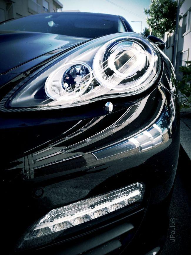 I see you...💚 Porche Cars Taking Photo Headlights