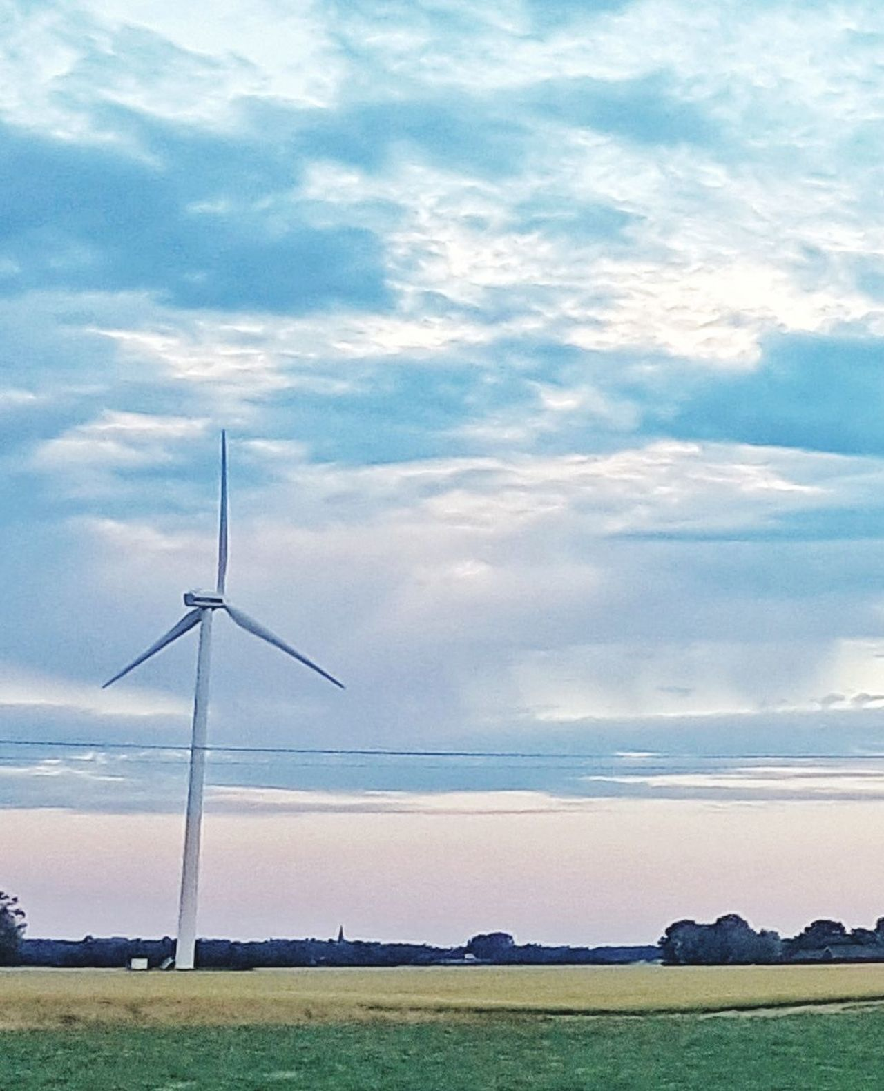 Power Environmental Conservation Wind Power Wind Turbine Alternative Energy Power In Nature Cloud - Sky Tranquility No People Outdoors Rural Scene Wind Power