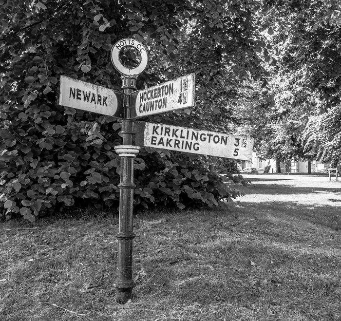 Polo County road sign, Southwell, Nottinghamshire Road Sign Direction Nottinghamshire FUJIFILM X-T2 Monochrome Photography Blackandwhite Southwell Black And White Bnw_friday_eyeemchallenge