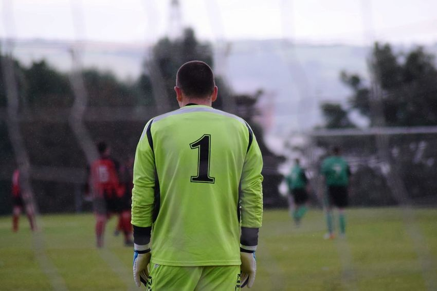 Number 1 Keeper Sport Soccer One From My Point Of View The Colour Of Life The Color Of Sport