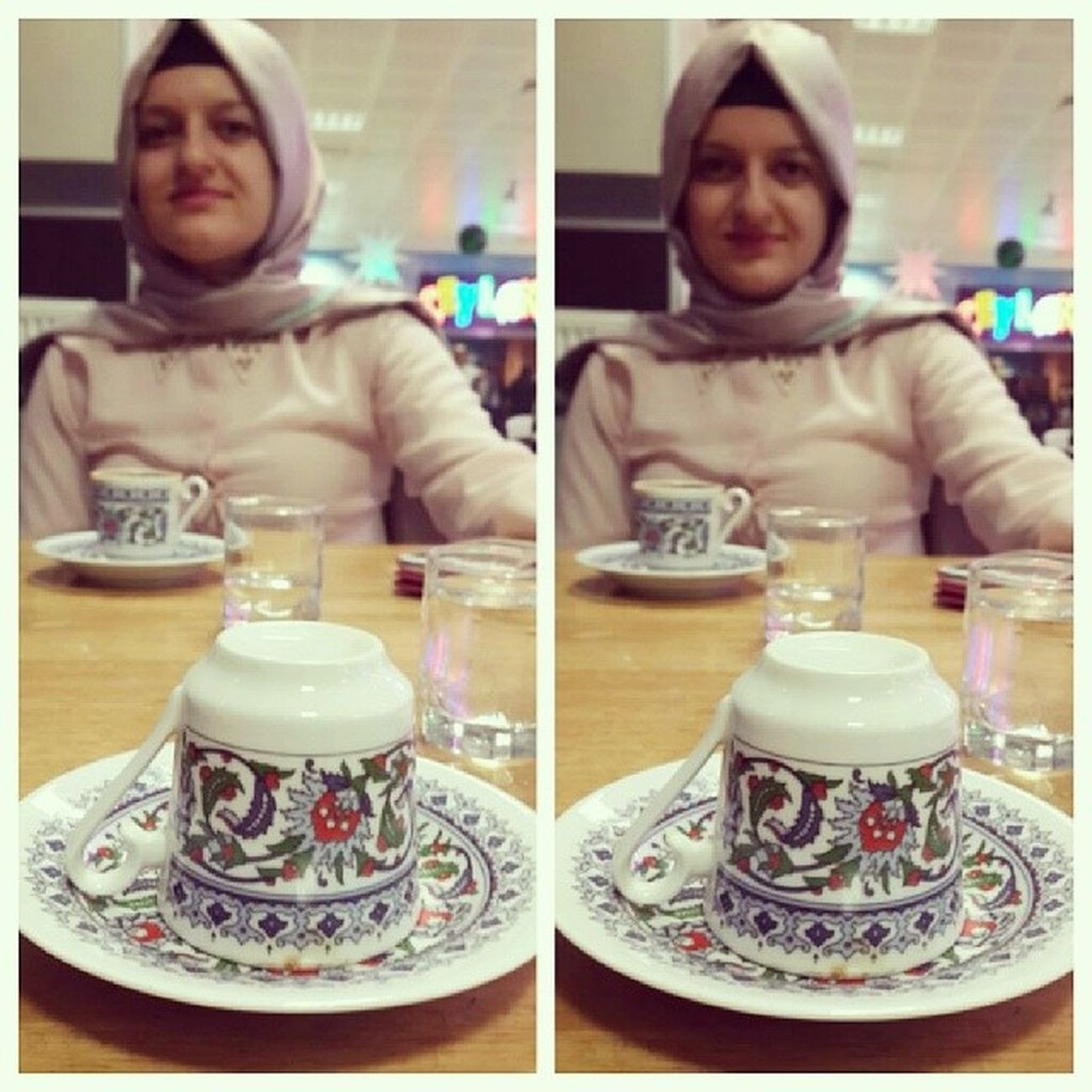Happychristmas Birkahveninkirkyilhatrivardir Türkkahvesi Turkishcoffee yilbasibizdeboyle kutahya muş pink
