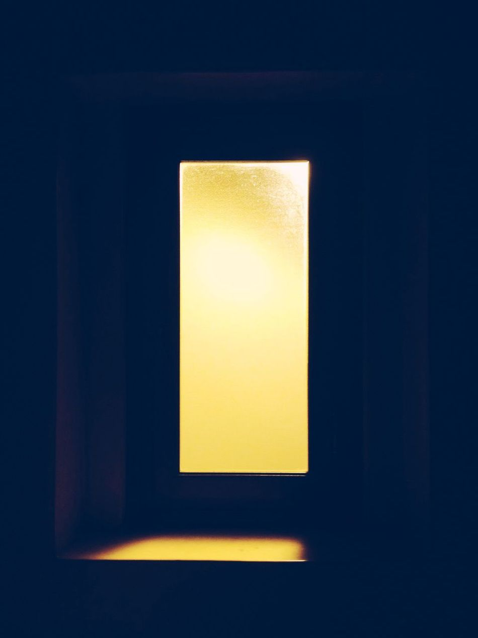 Illuminated Indoors  Copy Space Yellow No People Blank Close-up Day Abstract Yellow Color Orange Orange Color Shadow Darkness And Light Darkness Abstractions In Colors Abstractions Lights And Shadows Light In The Darkness Light Effect Window