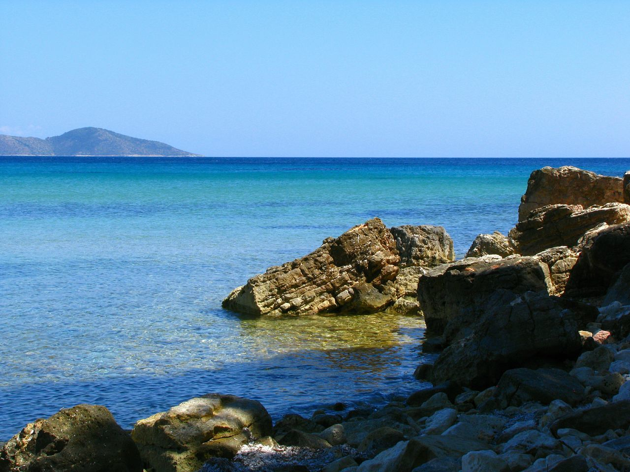 Beach Rocky Beach Photography Rocky Beach Sea Water Tranquil Scene Beauty In Nature Nature Landscapes Seascape Blue Sea Shades Of Blue Tranquility Alonnisos Island Greek Islands Rock Formation Blue Horizons Rocks Rocks And Water