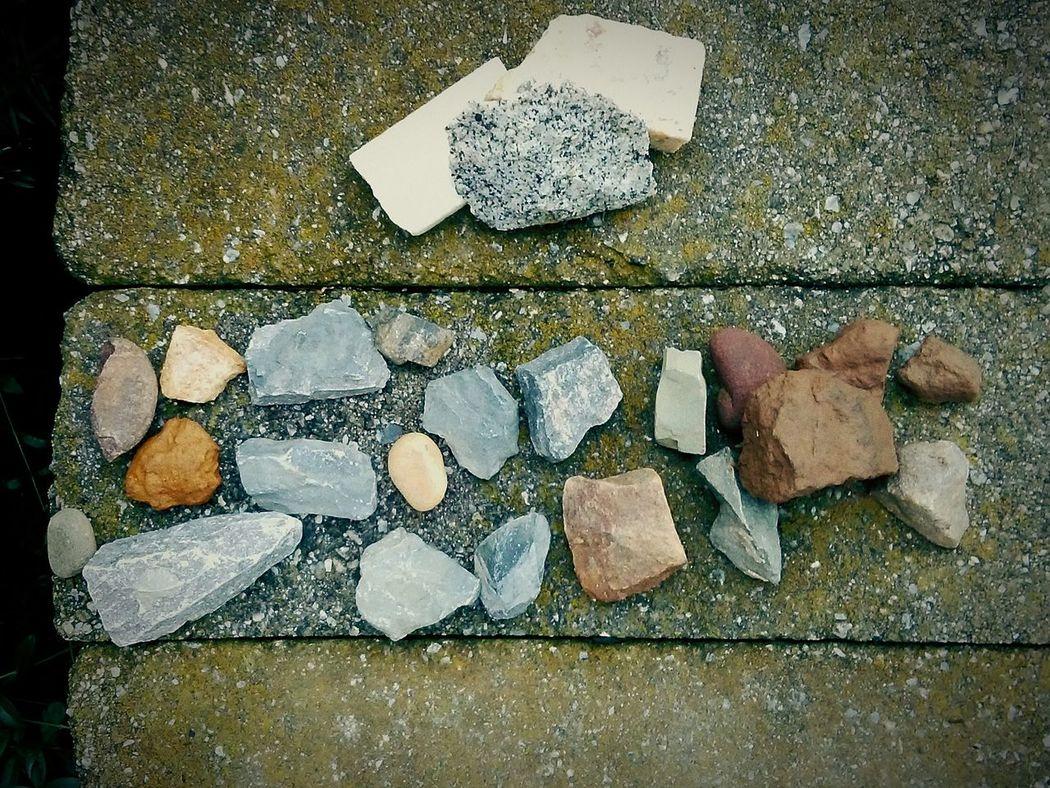 A Little Boys' Rock Collection Rocks And Minerals Rock Collecting Childhood Treasures EyeEm New Jersey EyeEm Gallery EyeEm EyeEm Best Shots Smartphone Photography