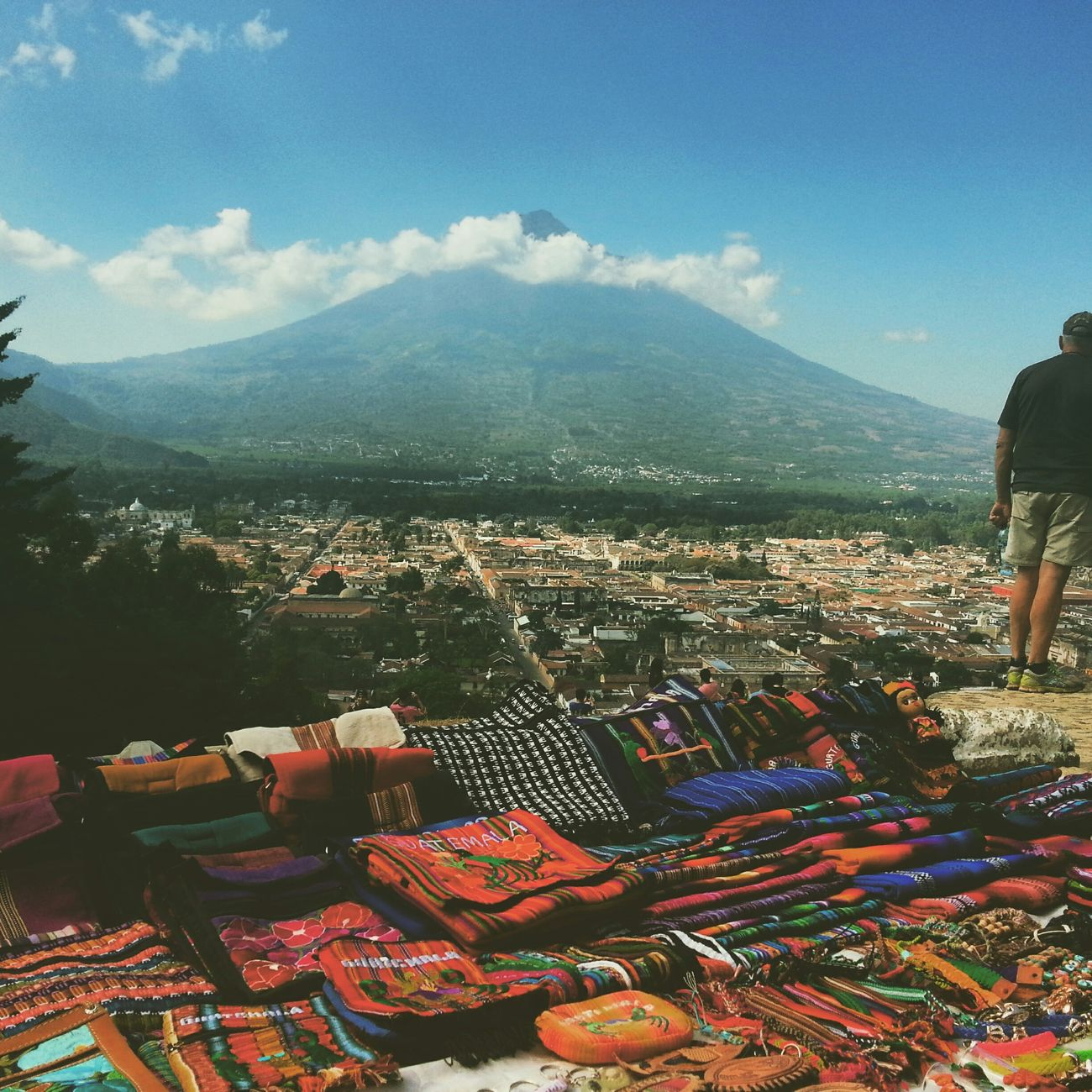 Antigua Guatemala, Guatemala. Cerrodelacruz Volcán Antigua Guatemala Traveling Travel Photography Colorful Handmade Traveling In Guatemala Hondureños
