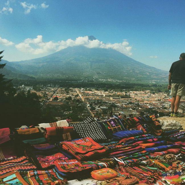 Antigua Guatemala, Guatemala. Cerrodelacruz Volcán Antigua Guatemala Traveling Travel Photography Colorful Handmade Traveling In Guatemala Hondureños