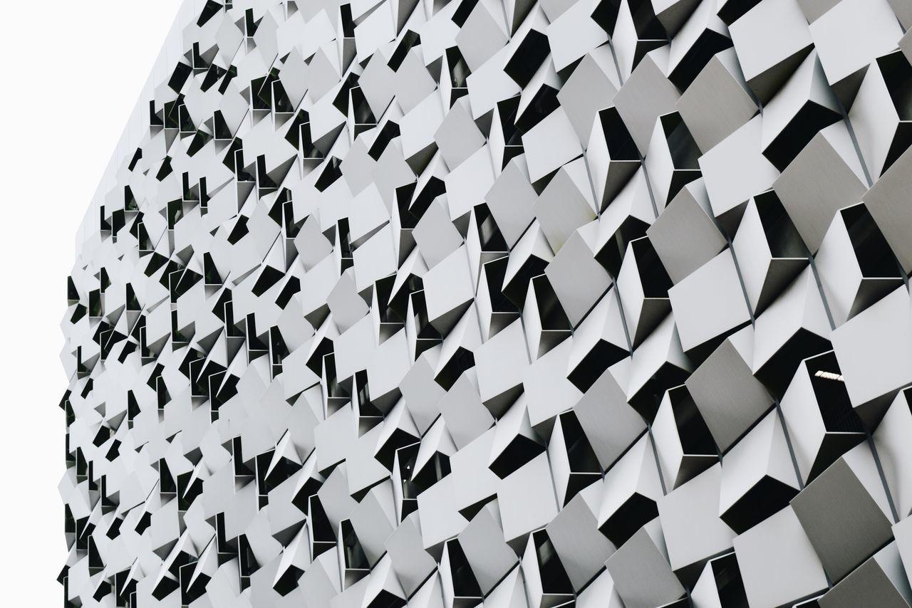 Harmony and Rythm Q Park White Harmony Architectural Detail Modern Architecture Angles Geometric Shapes Urban Geometry Buildings Urbanphotography Minimalism Eyeem UK Team Pattern Pieces