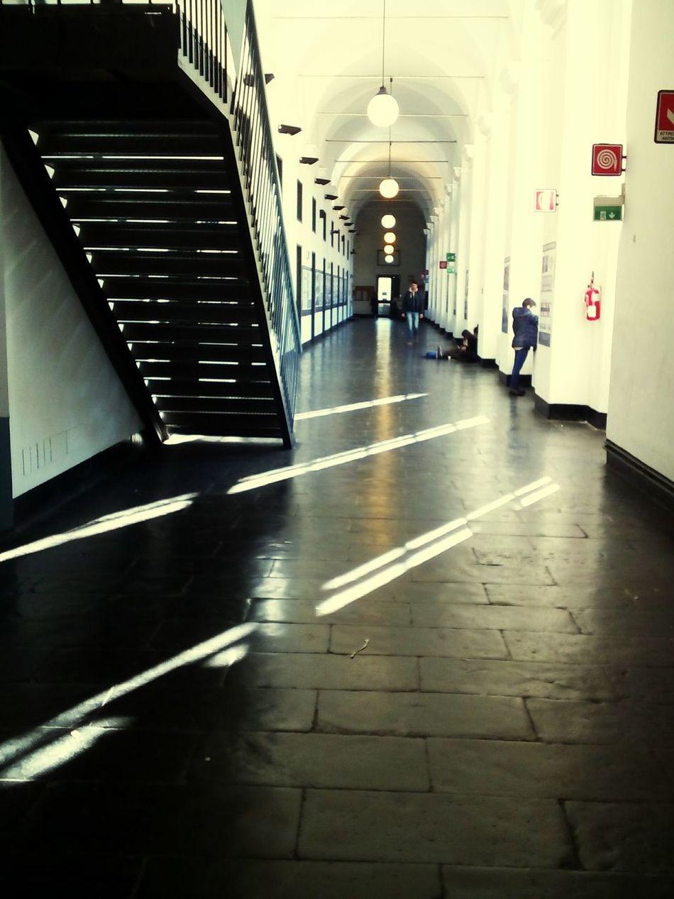 Indoors  Architecture Day People Studio Shot Student Silence Whatiseerightnow University Of Genua