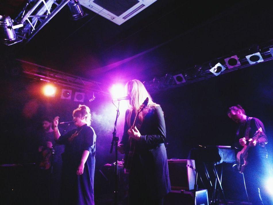 amazing Concert by icelandic band Hjaltalin