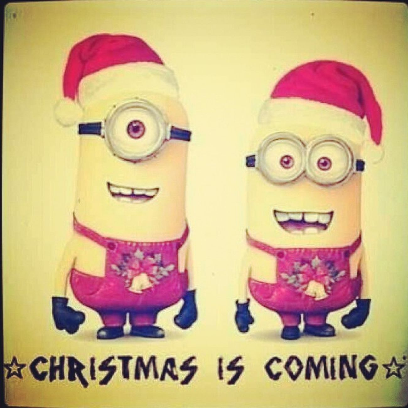 Minions ♥♥ ChristmasTime2013 Happpy Relaxing