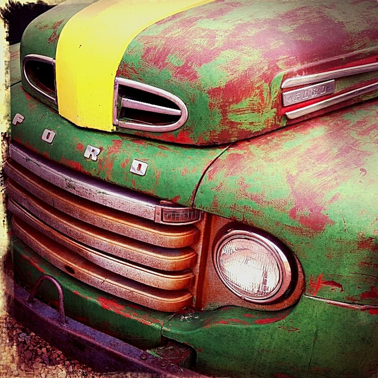 Truck Antique Color Check This Out Truck Life Multi Colored No People Truck Graveyard