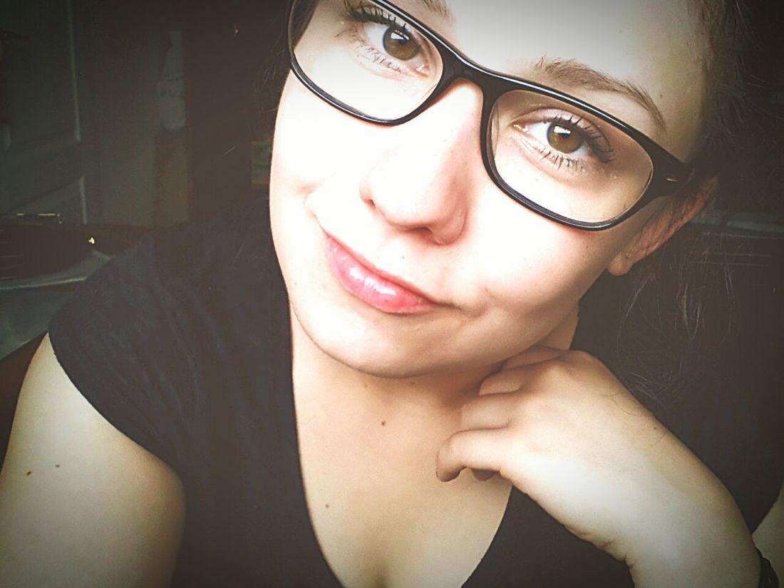 Smartgirl  Newstudent Feelingold Glasses