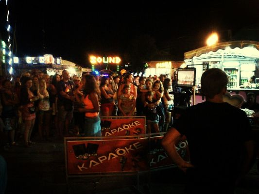 karaoke in Alushta by cernucello