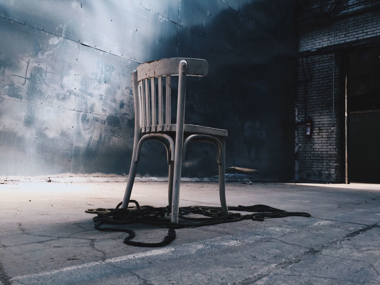 Beautiful stock photos of psychedelic, Abandoned, Chair, Indoors, No People