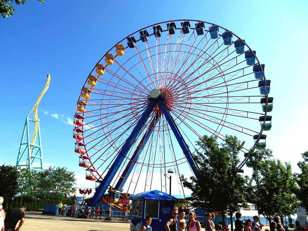 Ferris Wheel Cedar Point Sandusky Ohio Ferriswheel🎡 Ferris Wheels Ohio, USA CedarPoint
