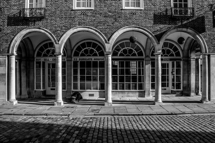 Underneath the Arches Arch Architecture Black And White Homeless Outdoors Sleeping Rough
