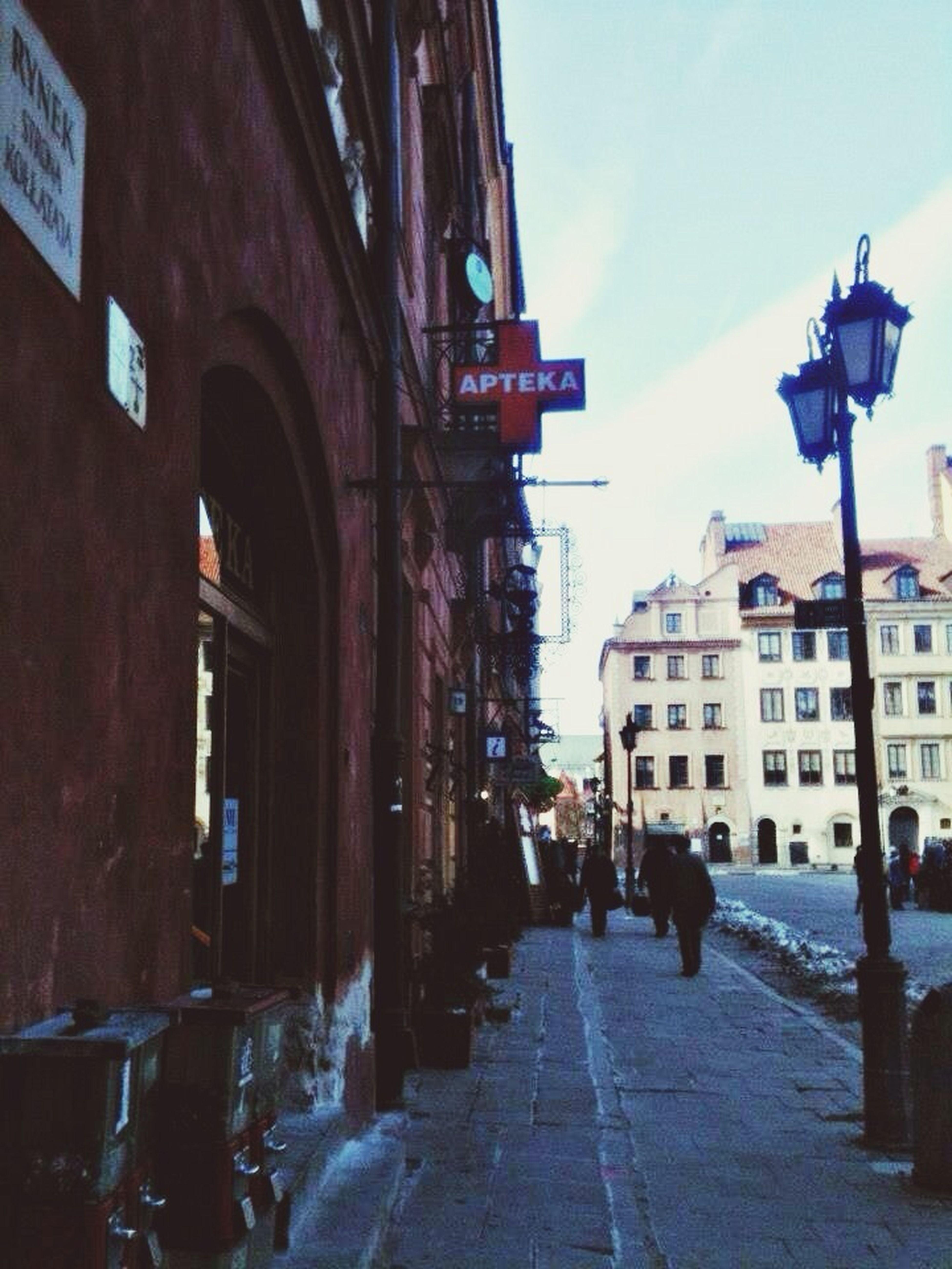 Old Town, Warsaw Stare Miniasto Warsaw Poland Spring 2013 Apotheke