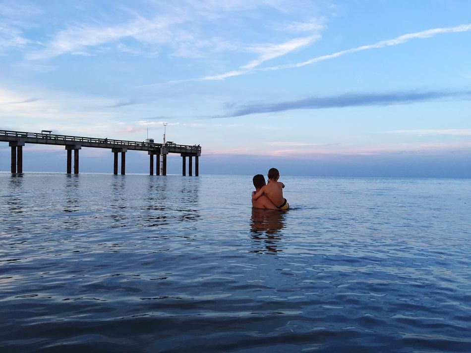 Beautiful stock photos of father, Beach, Beauty In Nature, Bonding, Boys