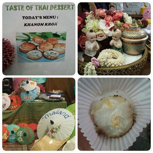 Today Menu Khanomkrok Serabi Mini Thailand Discover  Thainess 26 September 2015