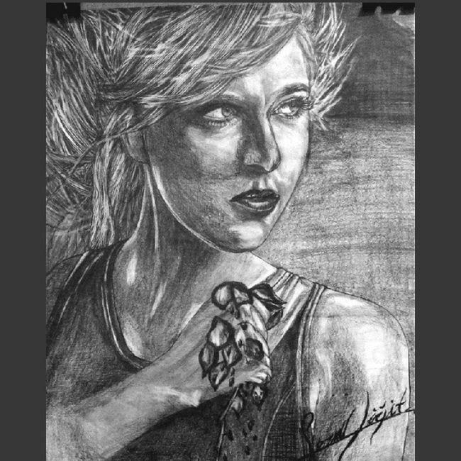 MariaSharapova Karakalem Sketch Art drawings amateur painter love askyorgunu İstanbul turkey dream beautiful fantastic sweet girl tennis famous independent world onemoretime