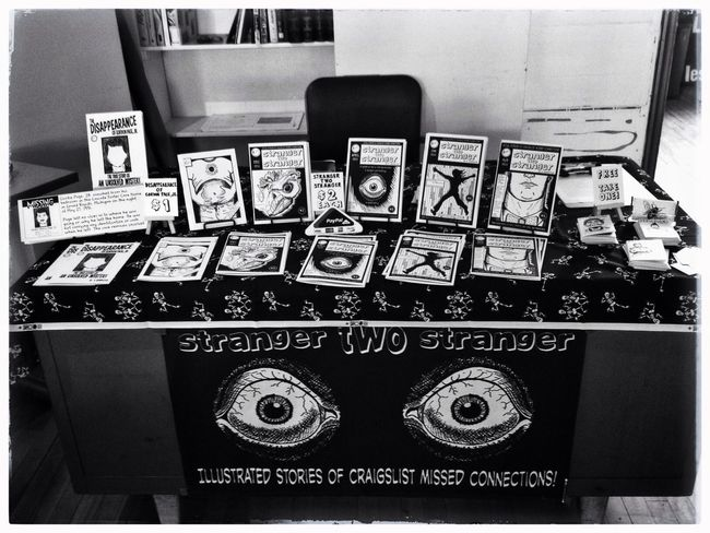 I'm at the Detroit Art Book Fair today 1480 Gratiot! Detroit Books Zines Dabf